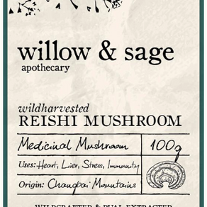 SPOTLIGHT ON....Willow & Sage's Wild Harvested Reishi Mushroom