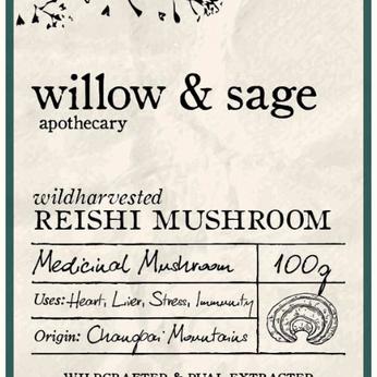 SPOTLIGHT ON....Willow & Sage's Wild Harvested Reishi Mushroom