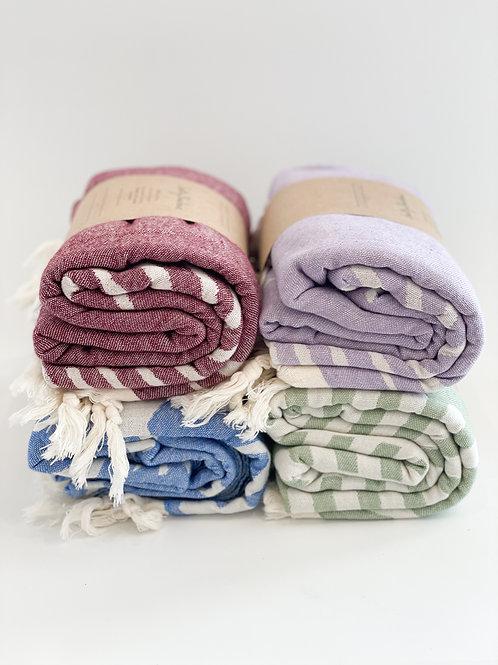 Salty Shadows Turkish Towel