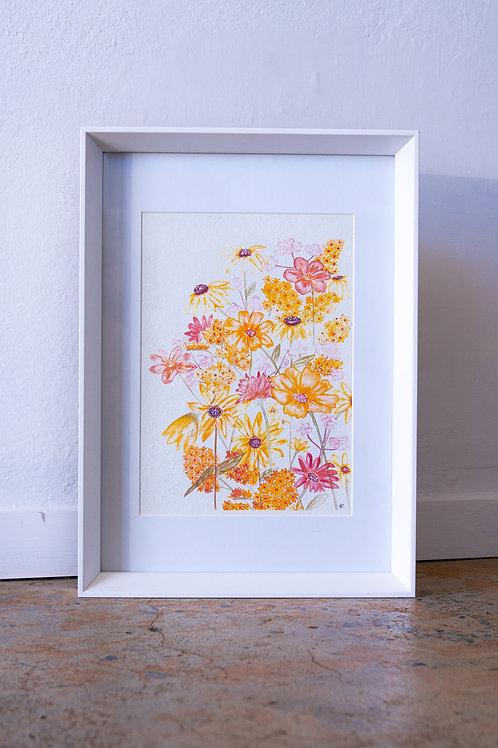 Hello Petal Shades of Sunshine Print