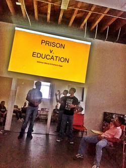 compare/contrast prison and educaion