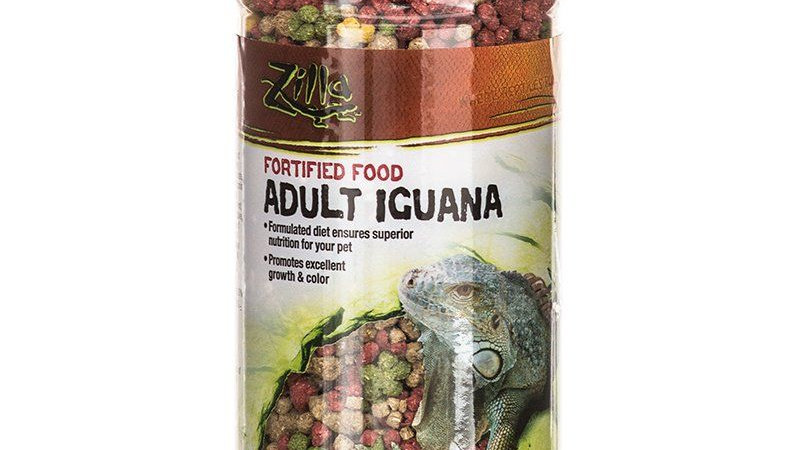 Zilla Fortified Food for Adult Iguanas