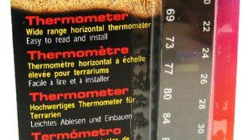 Exo-Terra Liquid Crystal Wide Range Thermometer