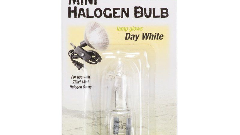 Zilla Mini Halogen Bulb - White