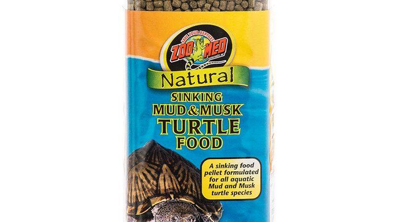 Zoo Med Natural Sinking Mud & Musk Turtle Food