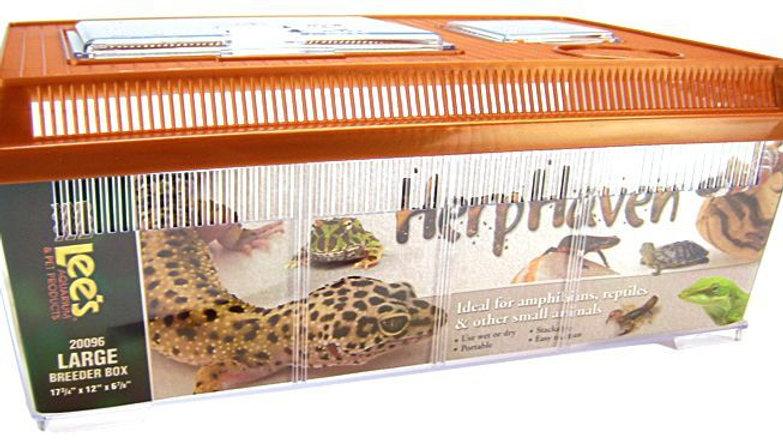 Lees HerpHaven Breeder Box - Plastic