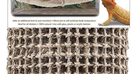 Penn Plax Reptology Lizard-Lounger Bridge