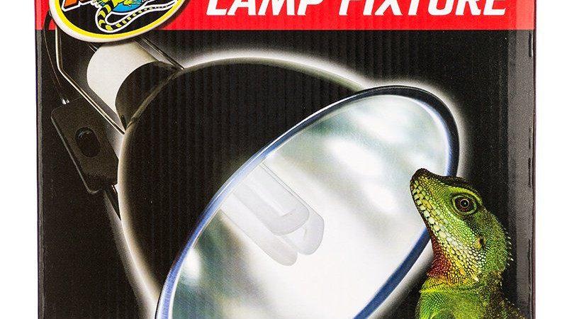 Zoo Med Deep Dome Lamp Fixture - Black