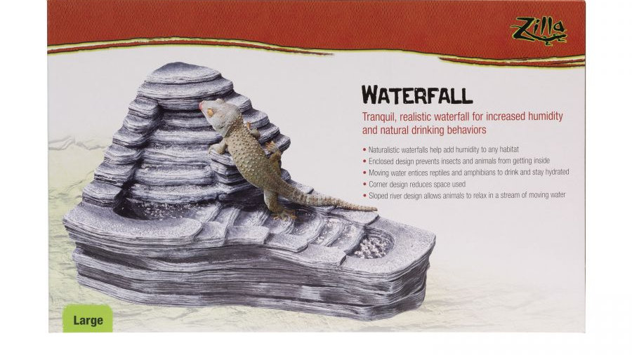 Zilla Large Waterfall for Reptiles