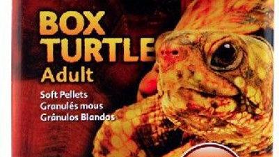 Exo Terra Soft Pellets Adult Box Turtle Food