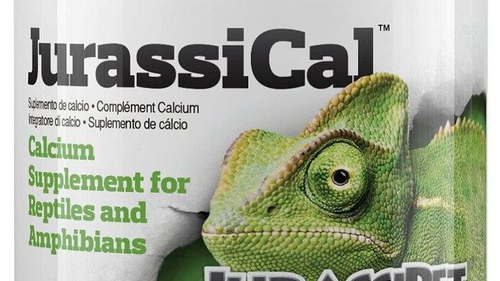 JurassiPet JurassiCal Reptile and Amphibian Dry Calcium Supplement