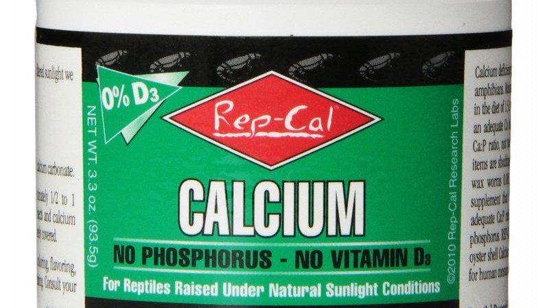 Rep Cal Phosphorus Free Calcium without Vitamin D3 - Ultrafine Powder