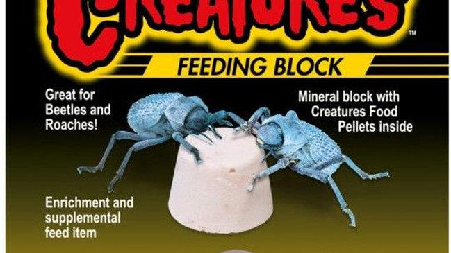 Zoo Med Creatures Feeding Block