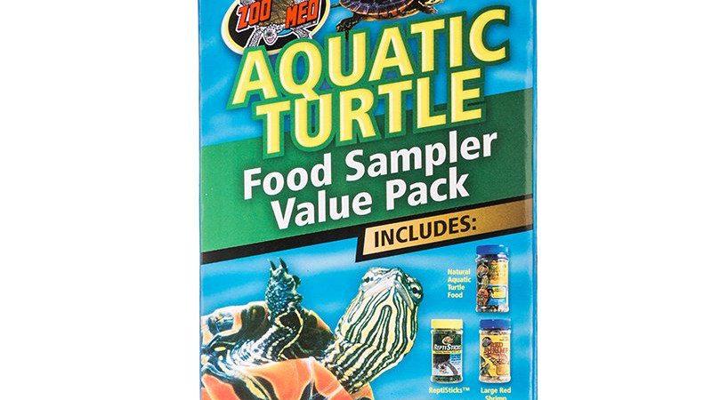 Zoo Med Aquatic Turtle Foods Sampler Value Pack