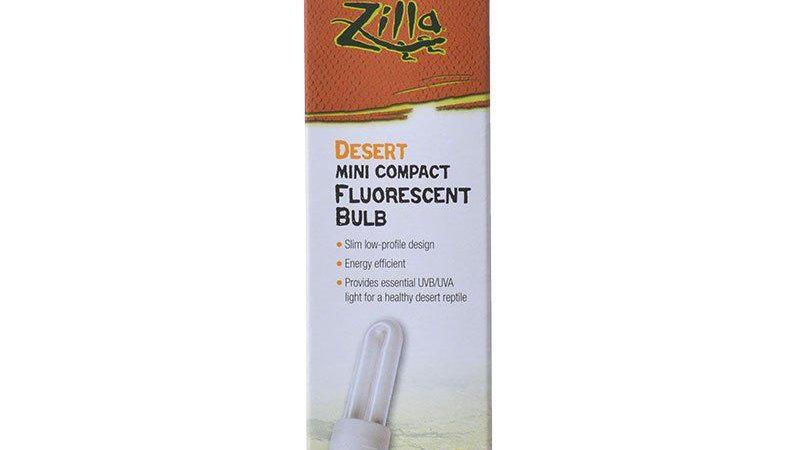 Zilla Desert Mini Compact Fluorescent UVA/UVB Bulb