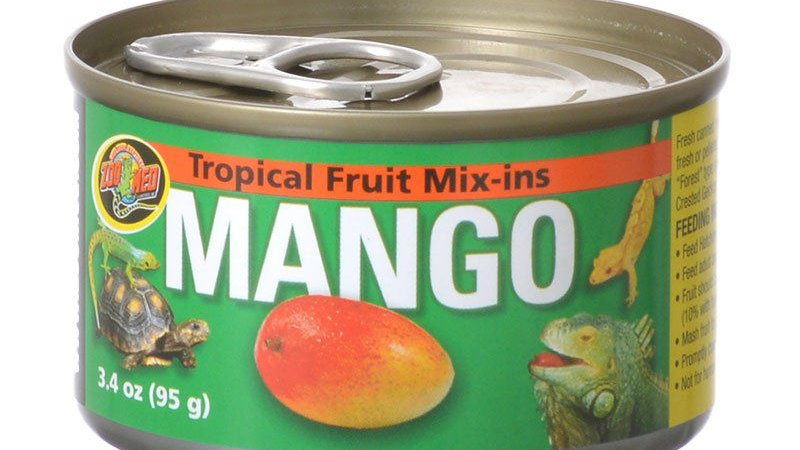 Zoo Med Tropical Fruit Mix-ins Mango Reptile Treat