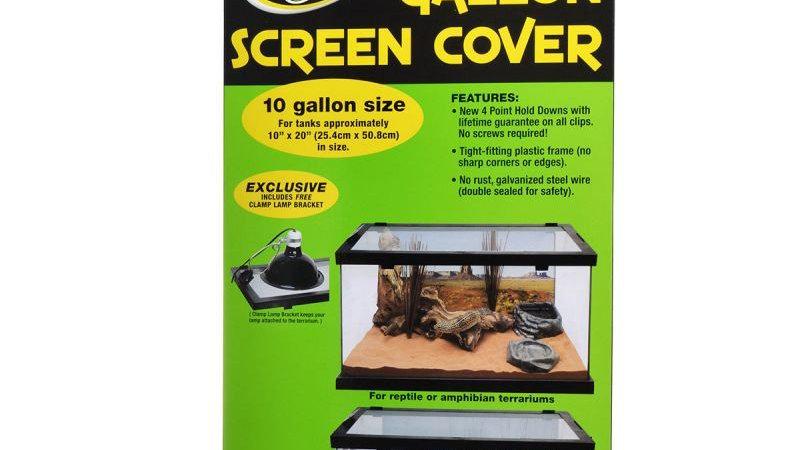 Zoo Med 10 Gallon Screen Cover 20 x 10