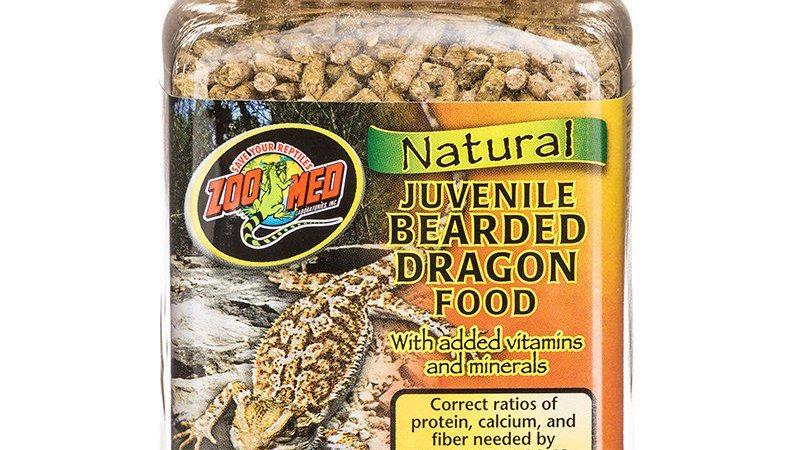 Zoo Med Natural Juvenile Bearded Dragon Food