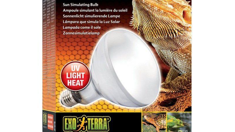 Exo-Terra Solar Glo Mercury Vapor Sun Simulating Lamp