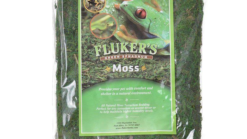 Fluker's Green Sphagnum Moss
