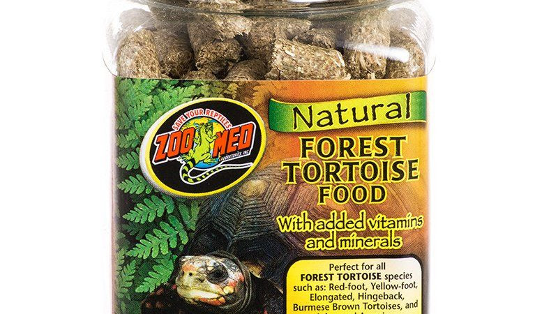 Zoo Med Natural Forest Tortoise Food