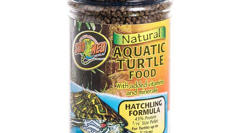 Zoo Med Natural Aquatic Turtle Food - Hatchling Formula (Pellets)