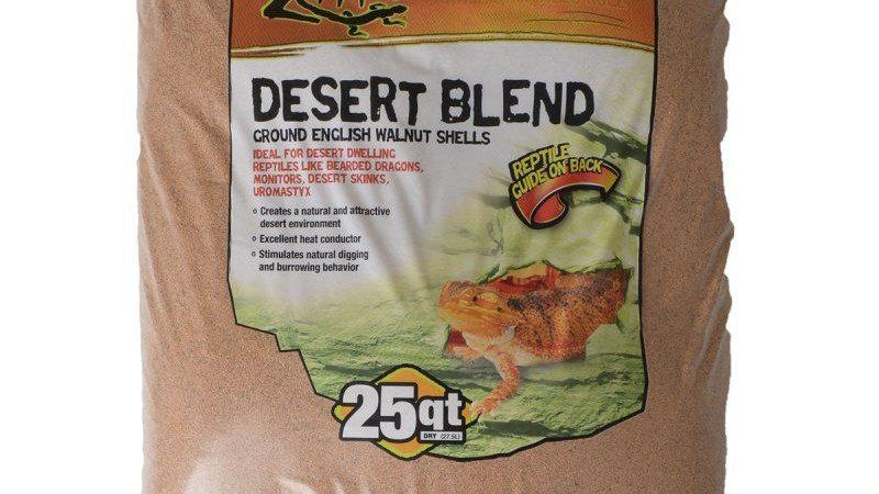 Zilla Desert Blend Ground English Walnut Shells Reptile Bedding