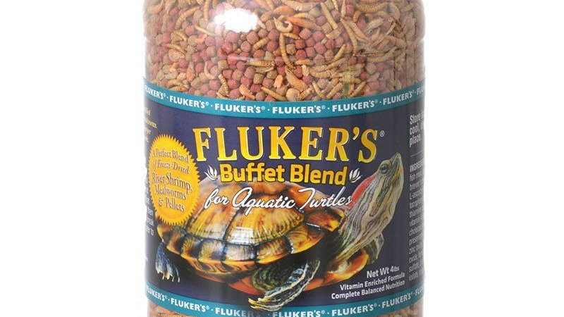 Flukers Buffet Blend for Aquatic Turtles