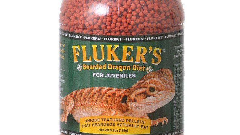 Flukers Bearded Dragon Diet for Juveniles