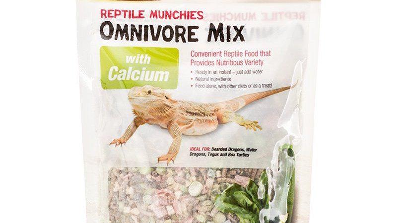 Zilla Reptile Munchies - Omnivore Mix with Calcium