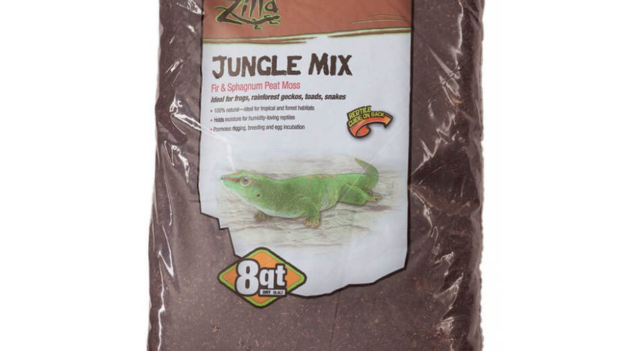 Zilla Lizzard Litter Jungle Mix - Fir & Sphagnum Peat Moss