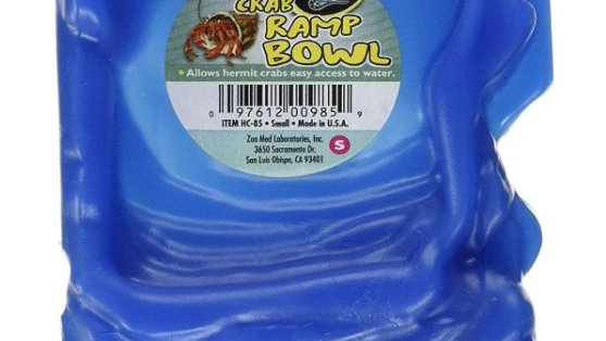 Zoo Med Hermit Crab Ramp Bowl