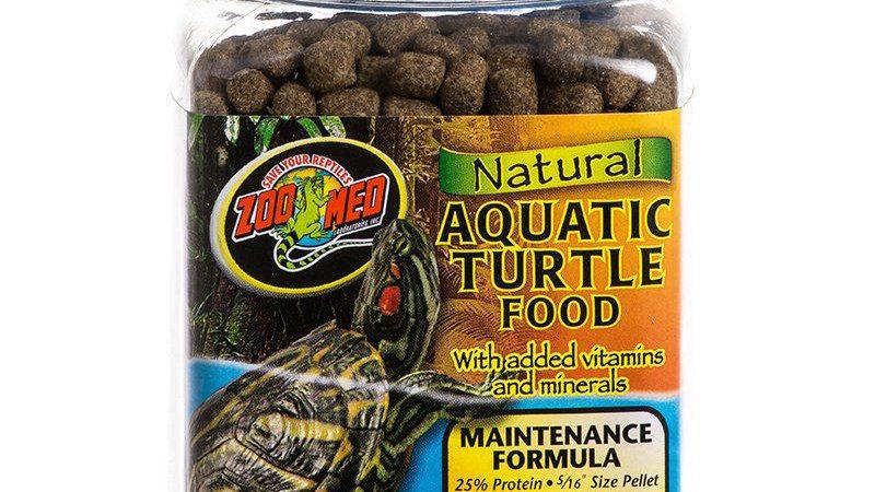 Zoo Med Natural Aquatic Turtle Food - Maintenance Formula (Pellets)