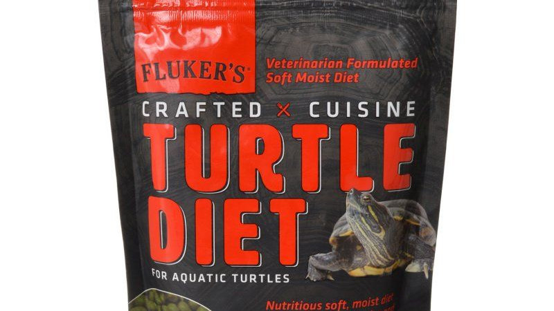 Flukers Crafted Cuisine Turtle Diet for Aquatic Turtles