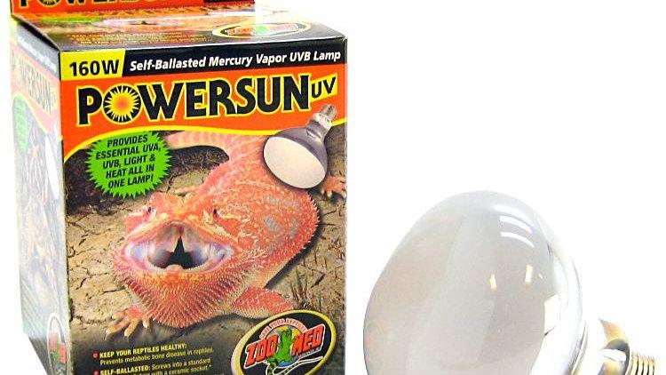 Zoo Med Powersun UVB Mercury Vapor Lamp
