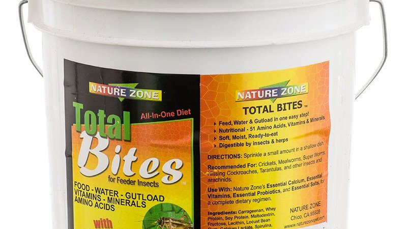 Nature Zone Total Bites for Feeder Insects