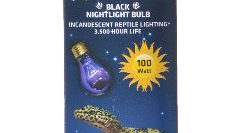 Flukers Black Nightlight Incandescent Bulb
