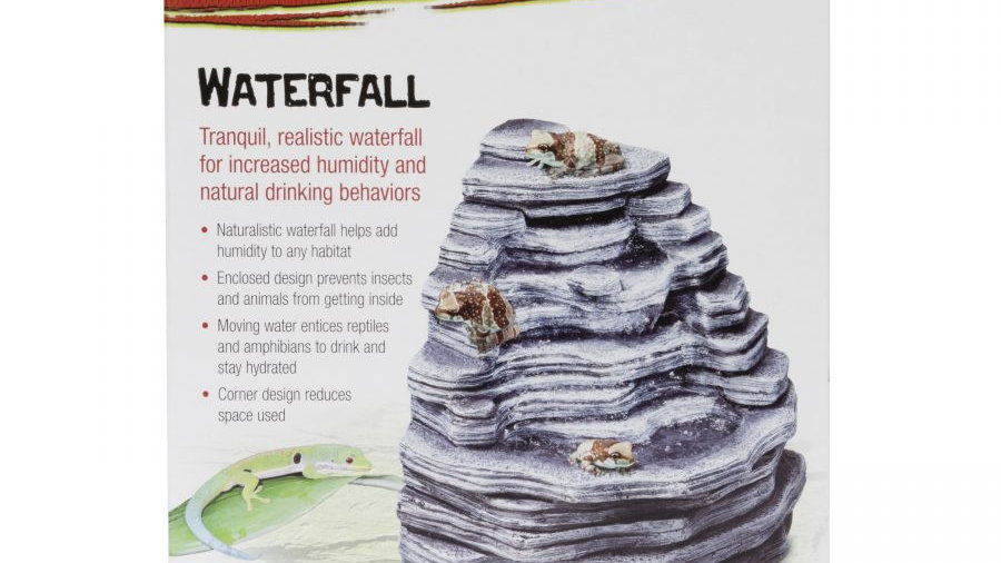 Zilla Small Waterfall for Reptiles