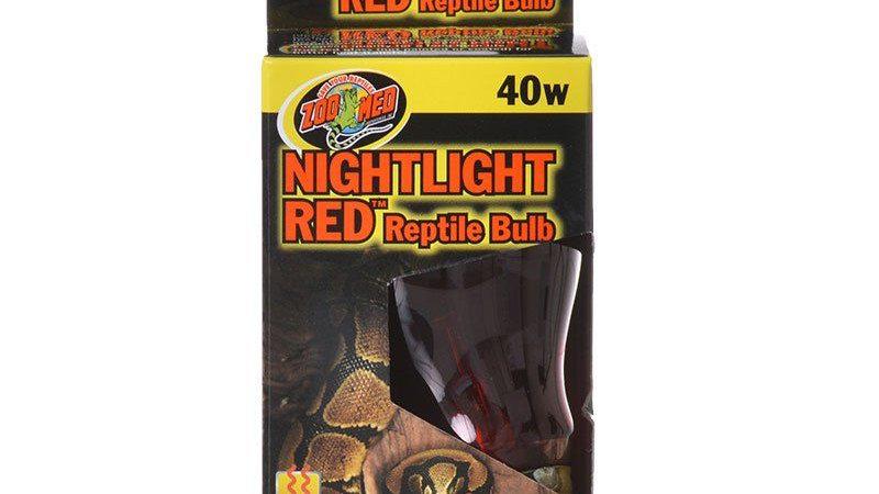 Zoo Med Nightlight Red Reptile Bulb