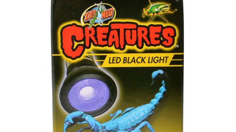 Zoo Med Creatures LED Black Light Lamp