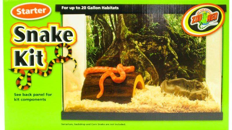 Zoo Med Snake Starter Kit