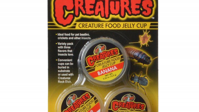 Zoo Med Creatures Creature Food Jelly Cup