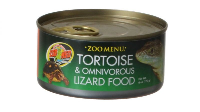 Zoo Med Land Tortoise & Omnivorous Lizard Food - Canned
