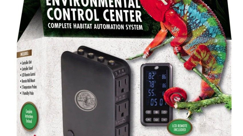 Zoo Med Environmental Control Center Complete Habitat Automation System