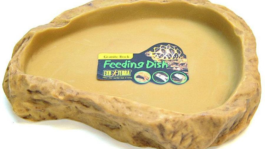 Exo-Terra Granite Rock Reptile Feeding Dish