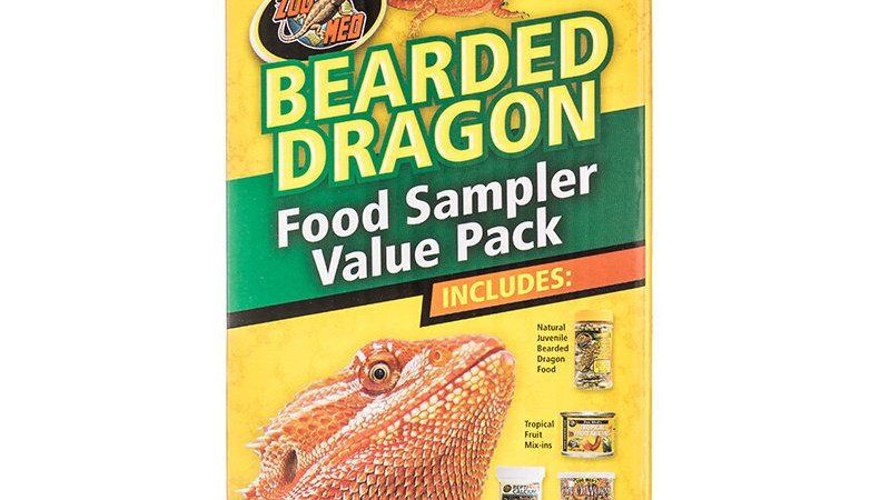 Zoo Med Bearded Dragon Foods Sampler Value Pack