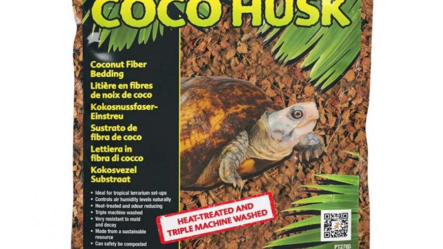 Exo Terra Coco Husk Coconut Fiber Bedding for Reptile Terrariums