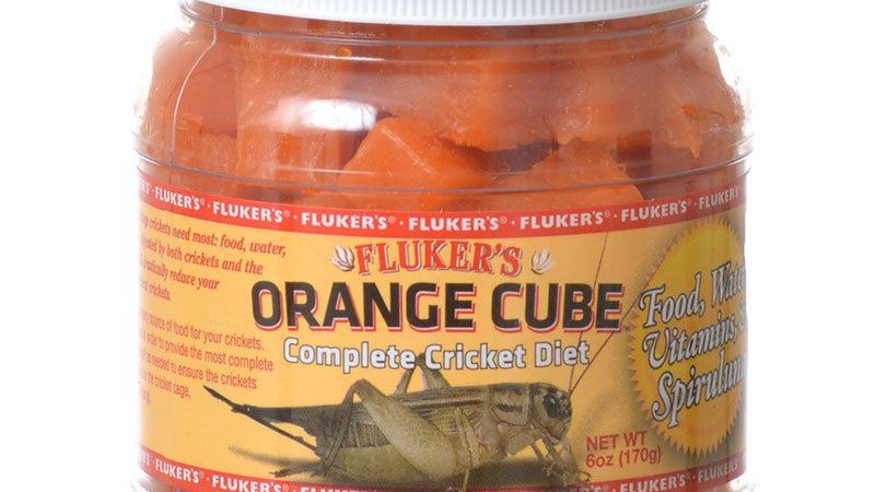 Flukers Orange Cube Complete Cricket Diet