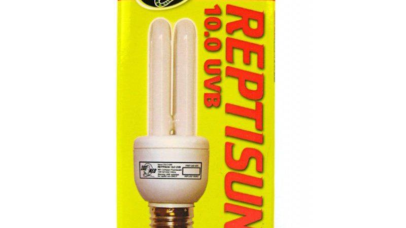 Zoo Med ReptiSun 10.0 UVB Mini Compact Flourescent Replacement Bulb