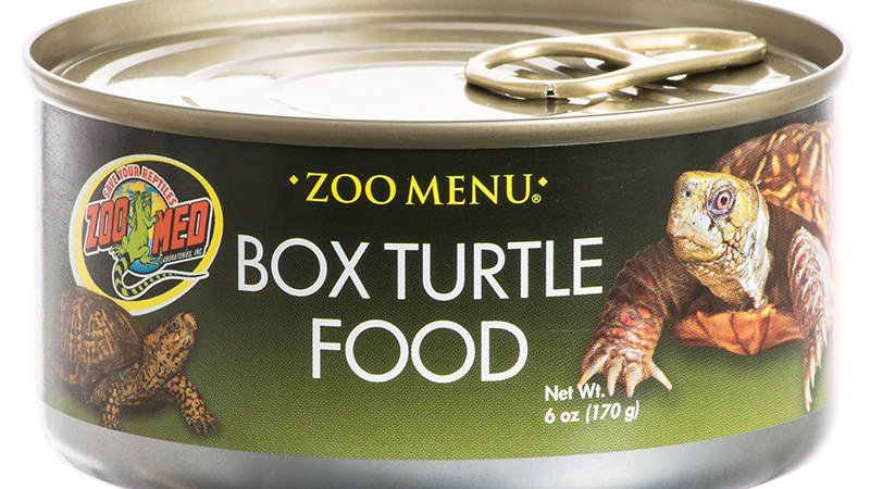Zoo Med Box Turtle Food - Canned